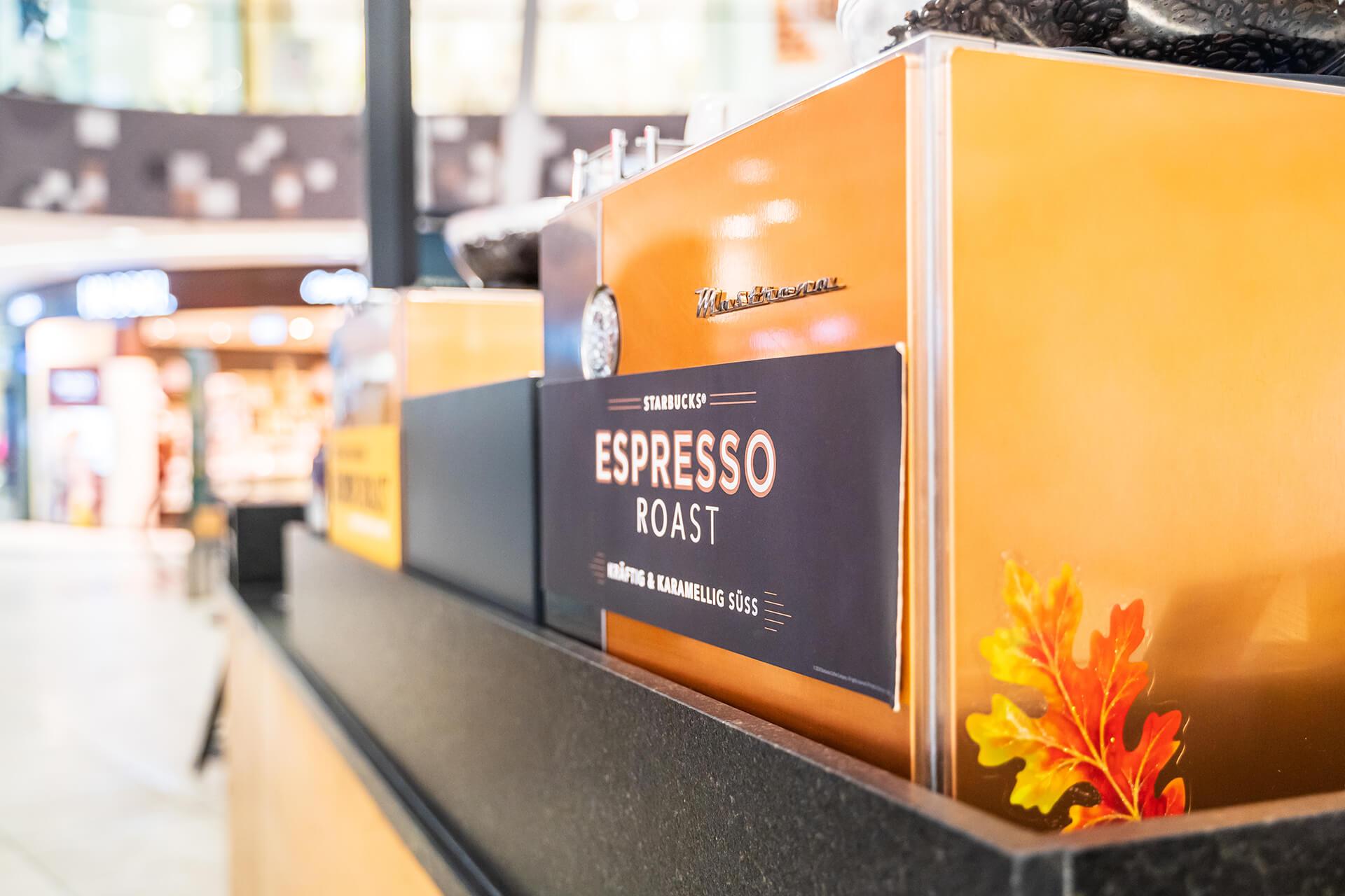 Nahaufnahme von Kaffeemaschine