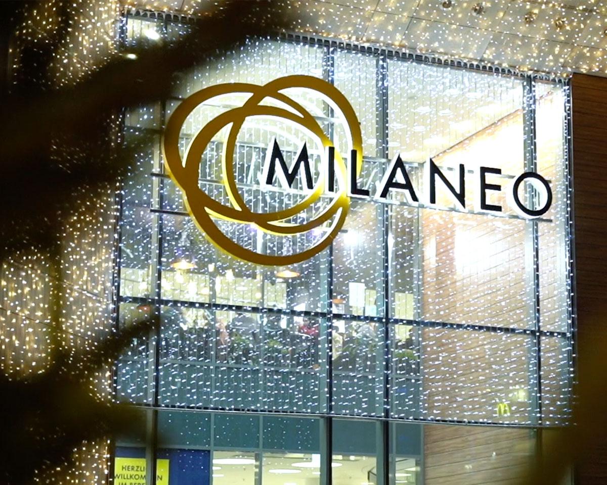 Haupteingang Milaneo Stuttgart